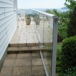 Balcony system balustrade Jersey, Channel Islands