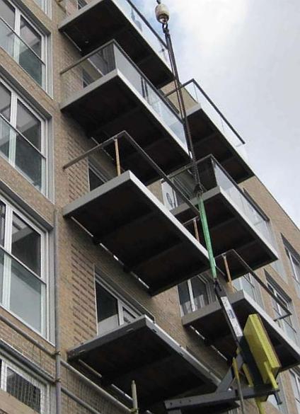 Balcony Design London: Glass Balustrades In London