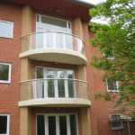 curved balconies without posts Littleover, Derbyshire
