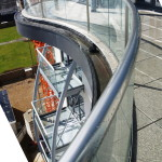 curved balcony