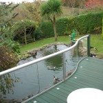 curved balcony glass Bristol