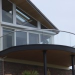 curved balcony with no posts Jersey, Channel Islands