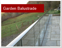 Garden Balustrade in Mid Wales
