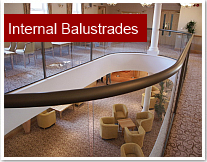 Internal Glass Balustrades