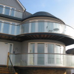 large curved balconies west kent