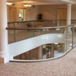 atrium glass balustrade Oldham Lancashire