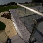 glass balcony balustrade419