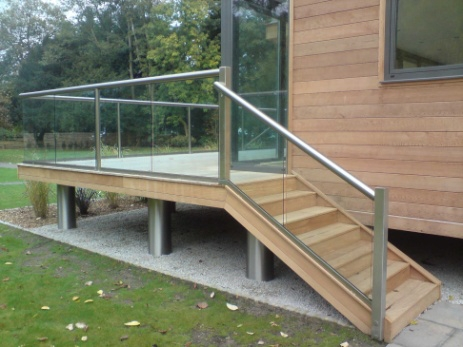 Srairs Glass Balustrade
