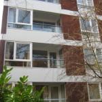 refurbished glass balconies london