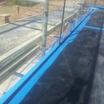 glass panels with resin
