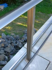 Balcony - during installation