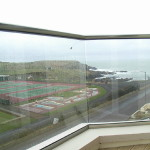 clear view through a glass balustrade Ireland