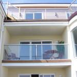 Glass Balcony on terrace