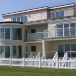 clear glass balustrades in south england