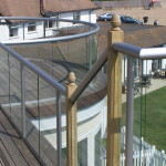 clear glass balcony in bexhill