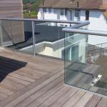 glass balcony grimsby