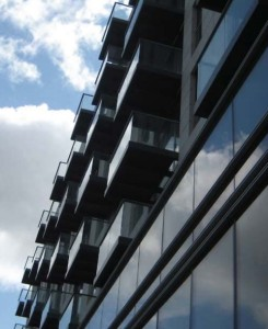 Glass Balconies in London