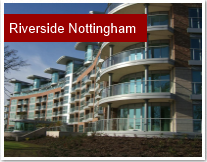 Riverside Nottingham glass balustrades