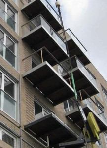 balconies installation