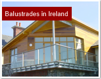 Glass Balustrades Ireland