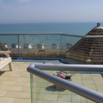 glass balustrade view