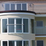 curved glass window and juliette balcony tamsworth