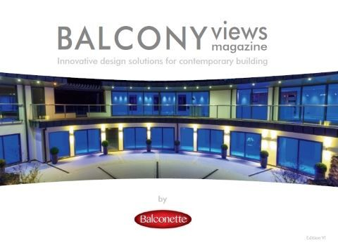 Balcony views - glass balustrades magazine